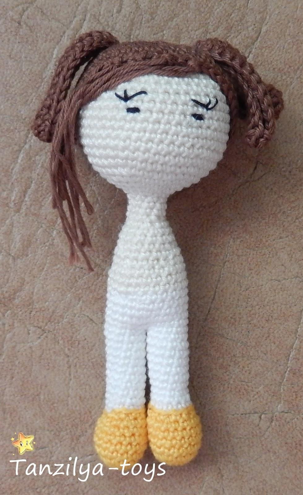 как сделать куколку из ниток для вязания