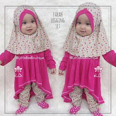 Model Baju Bayi Perempuan jilbab