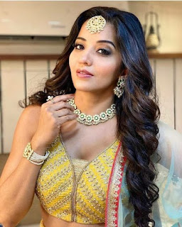 Monalisa Bhojpuri Actress cute photo