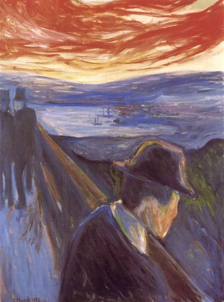 Эдвард Мунк - Отчаяние. 1892