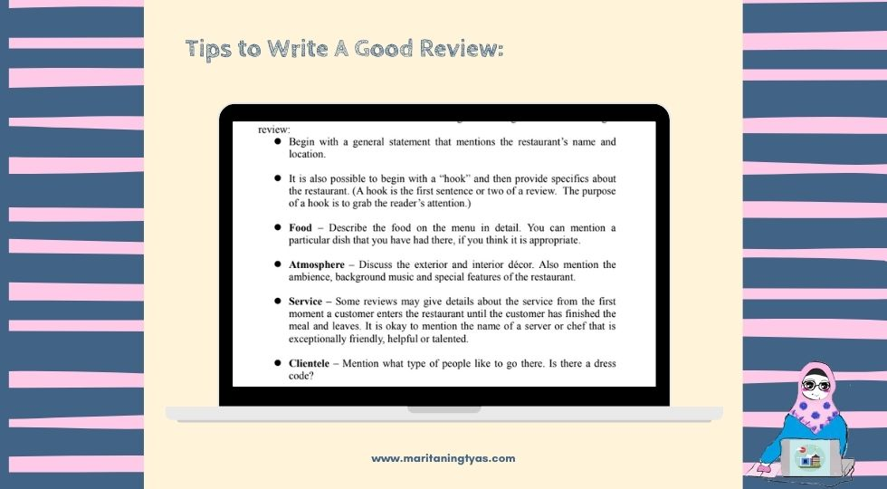 review writing tips