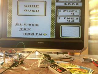 tetris 2 hdmi gameboy