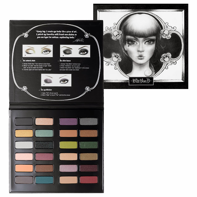 Kat Von D Spellbinding Eyeshadow Book Holiday 2013 Swatches