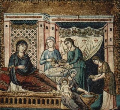 Η γέννηση - Pietro Cavallini