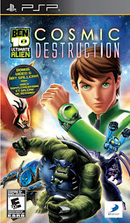Download Ben 10 Ultimate Alien – Cosmic Destruction ISO PSP Game