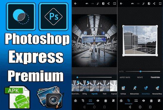 تحميل تطبيق adobe photoshop express premium apk نسخة مدفوعة مجانا للاندرويد