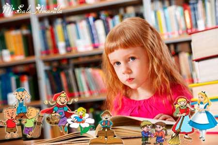 Mariel y los cuentos.Secuencia sobre derechos del niño