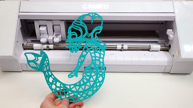 3D silhouette designs, paper crafts, adhesives, silhouette cameo 4, line segment overcut