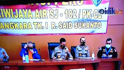 4 Jenazah Teridentifikasi Oleh Tim DVI POLRI Korban Pesawat Sriwijaya Air SJ 182