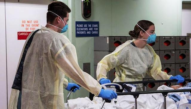 Hospitales en crisis por Covid-19 en Estados Unidos