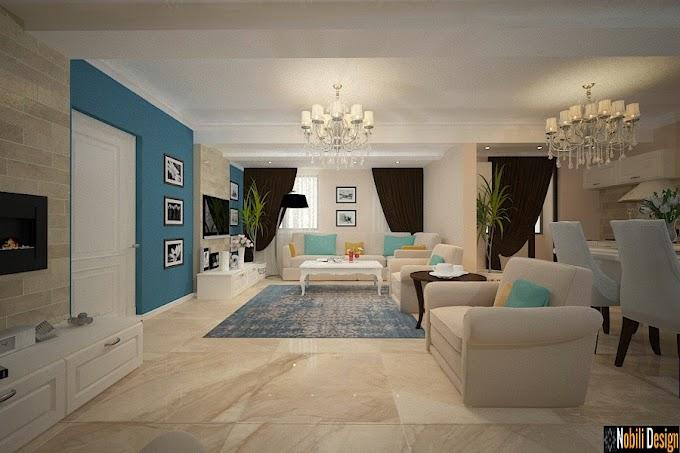 Design interior apartament cu 4 camere Bucuresti