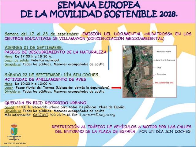 semana de la movilidad, 2018, villamayor, salamancaenbici