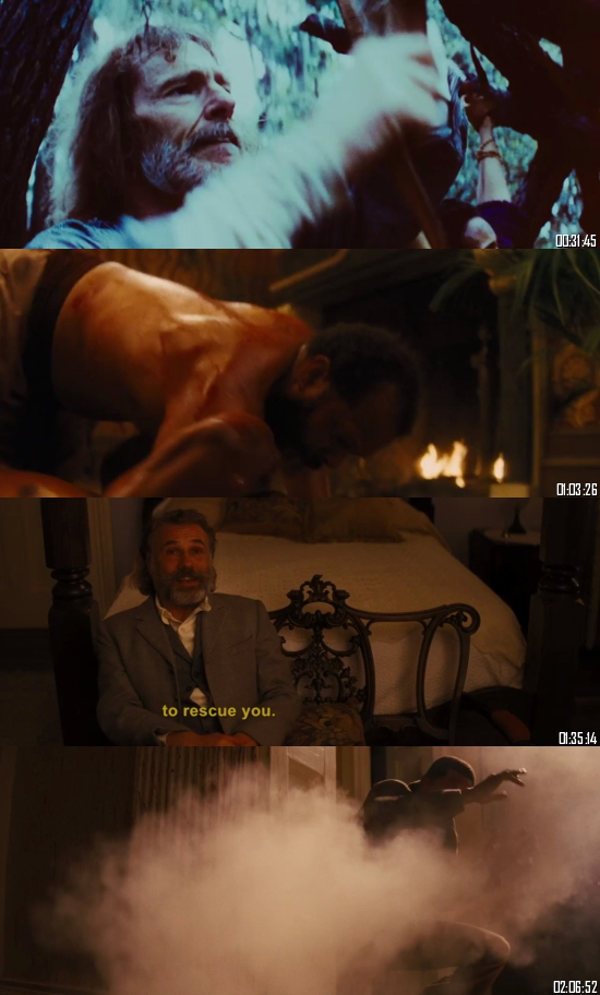 Django Unchained 2012 BRRip 720p 480p Dual Audio Hindi English Full Movie Download