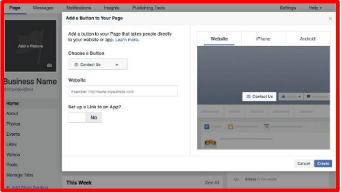 how to make a like page on facebook for a business