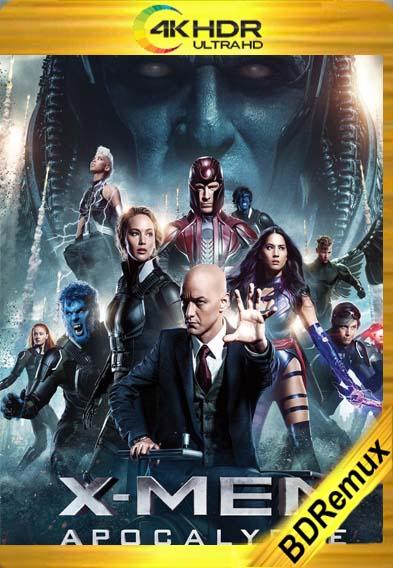 X-Men : Apocalipsis (2016) [1080p BD REMUX 4K] [Latino-Inglés] [LaPipiotaHD]
