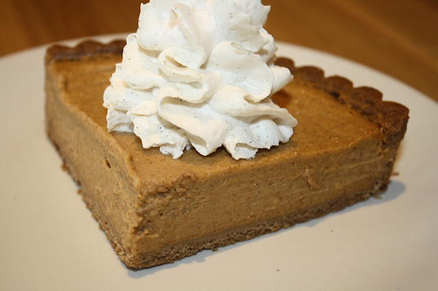 True Food Kitchen Squash Pie with Coconut Whipped Cream