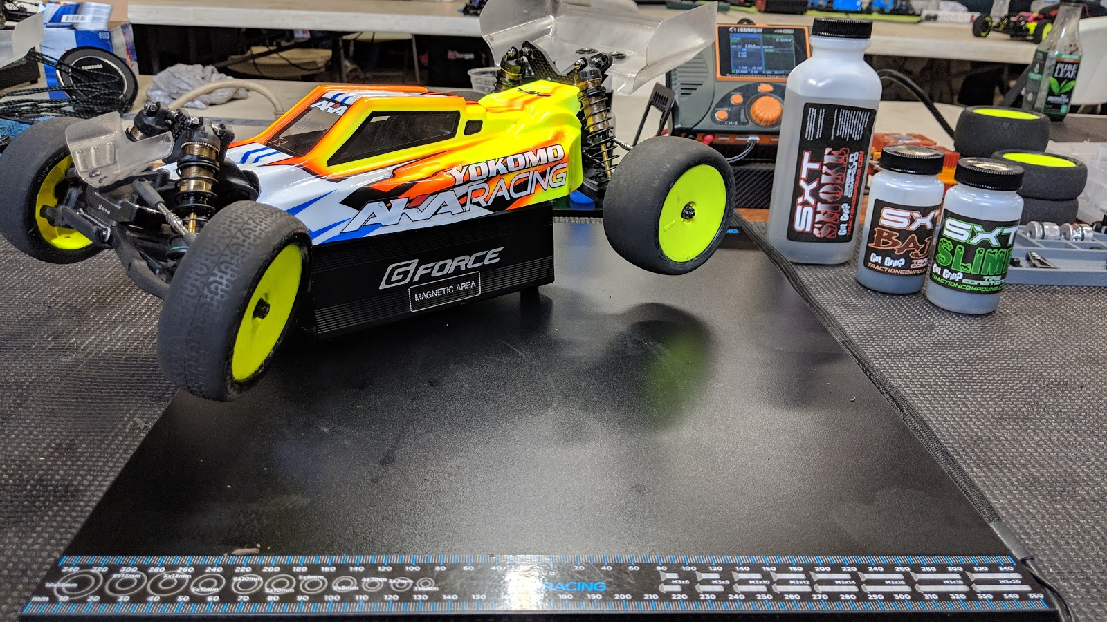 Pit Tables, RC Car Setup and Analysis