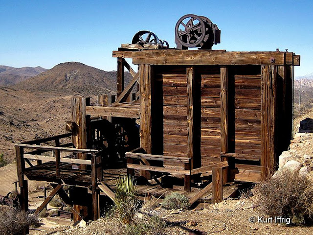 Lost Horse Mine's 10-stamp mill is considered to be one of California's most well preserved.
