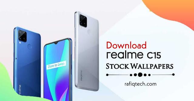 تحميبل خلفيات ريلمي Realme C15 اللأصلية بجودة عالية الدقة