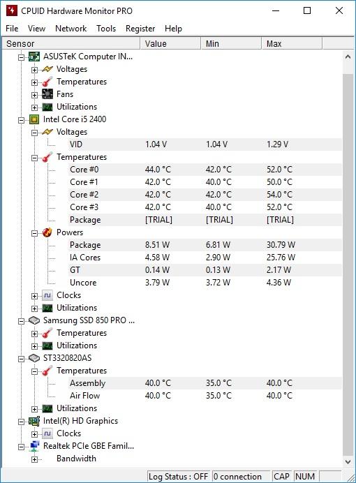 Sinau-Belajar: Pantau Kondisi Hardware Komputer dengan HWMonitor Pro
