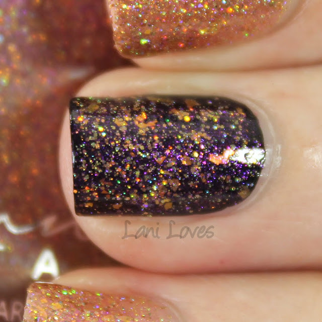 Femme Fatale Cosmetics The Secret Coinage nail polish swatches & review