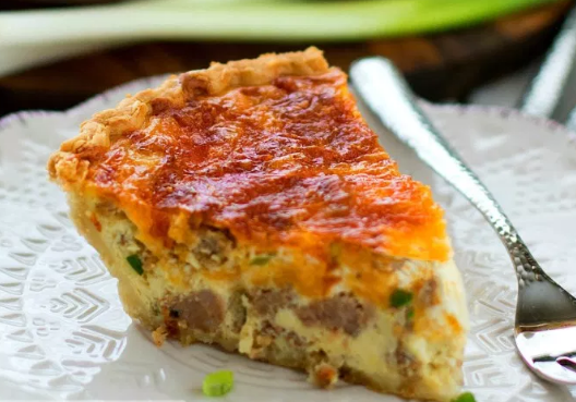 EASY SAUSAGE QUICHE RECIPE