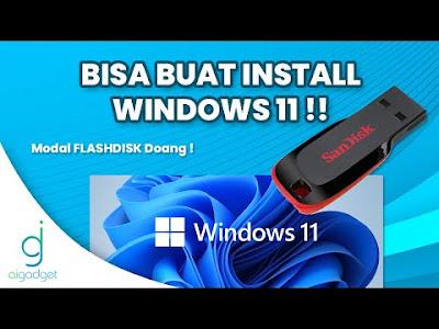 Cara Bikin Bootable Windows Untuk Pemula   PASTI BISA !!