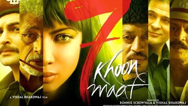 7 Khoon Maaf (2011) Hindi Movie 720p BluRay Download
