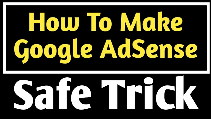 How to make google AdSense account