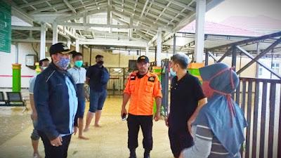 Bupati Wajo Kunjungi Kecamatan Pitumpanua yang Terendam Banjir