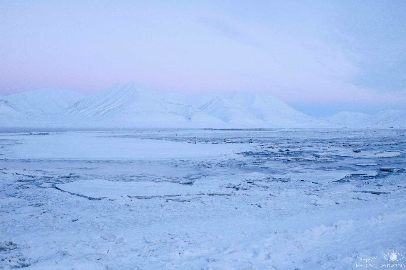 My Travel Background : cartes postales du Svalbard - Longyearbyen