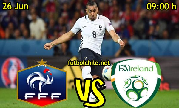 VER STREAM RESULTADO EN VIVO, ONLINE: Francia vs República de Irlanda