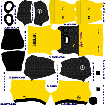 Borussia Dortmund 2020 2021 Dream League Soccer Kits