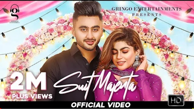Suit Majenta Lyrics – Ravneet