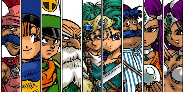 Dragon Quest IV Personagens