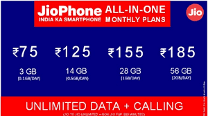 Reliance Jio introduced 'all-in-one' plan for Jio Phone users
