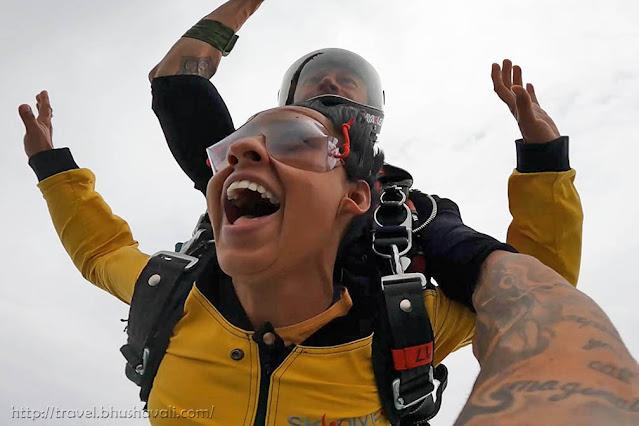 Skydive Spa first tandem skydiving in Belgium