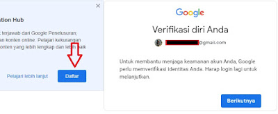 Question Hub dari Google
