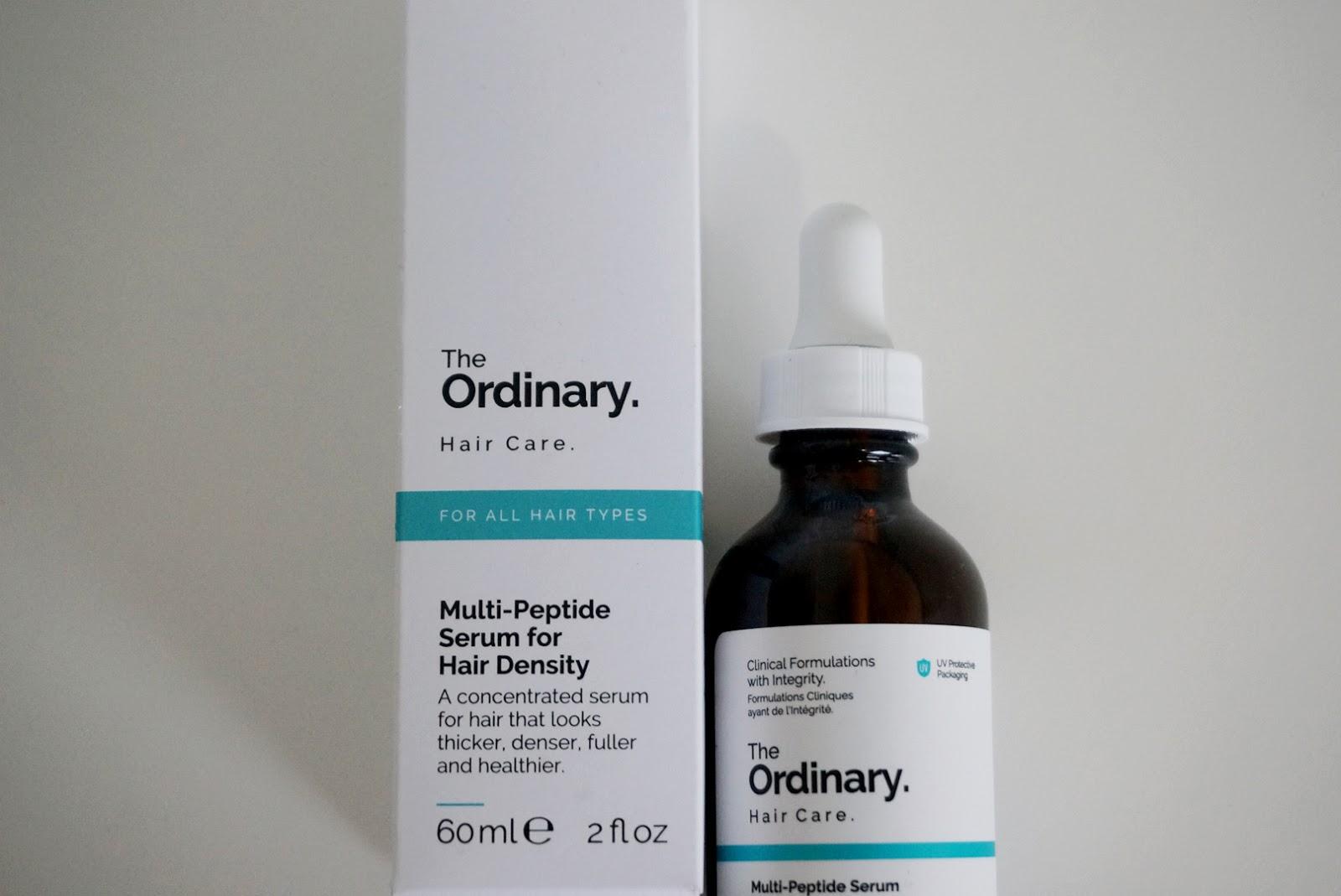 Review The Ordinary Multi Peptide Serum For Hair Rhea Gita Blog