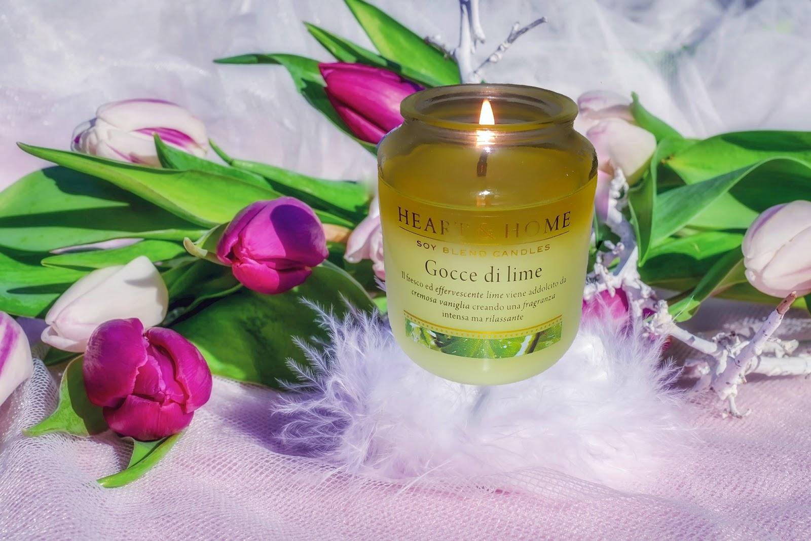 candela profumata limone