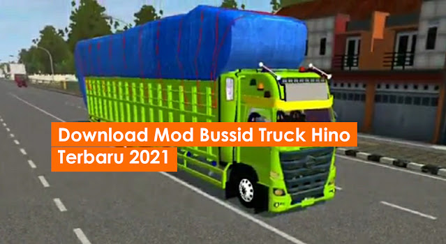 Download Mod Bussid Truck Hino Terbaru 2021