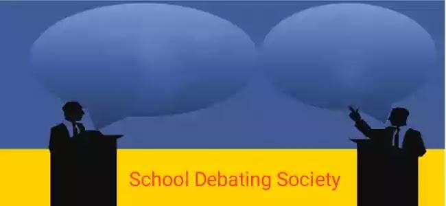 Essay on school debating society for students