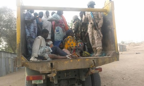 Photos: Troops Kill 9 Boko Haram Fighters, Rescues 21 In Wulwuta