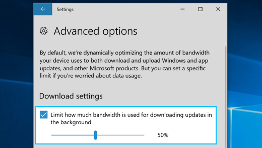 Pro Tip] Manage bandwidth usage for downloading updates in