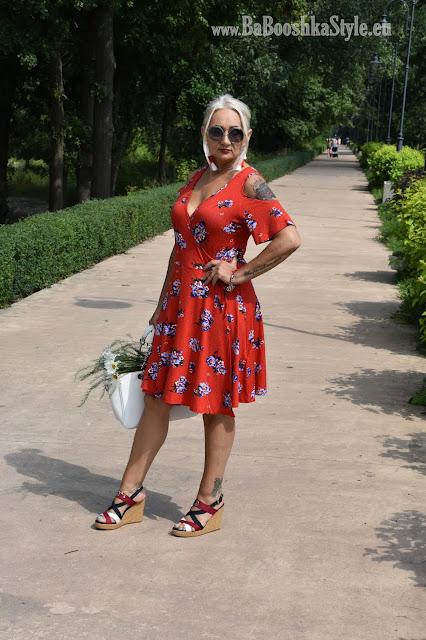 blogfashion50, Bonprix, footway, letnia sukienka, stylistka Babooshka, sukienka dla kolumny i gruszki, sukienka kopertowa typu A, Tommy Hilfiger, Footway.com