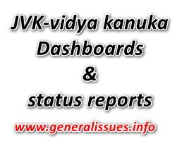 JVK-vidya kanuka Dashboards and status reports
