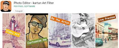 aplikasi ubah foto jadi kartun