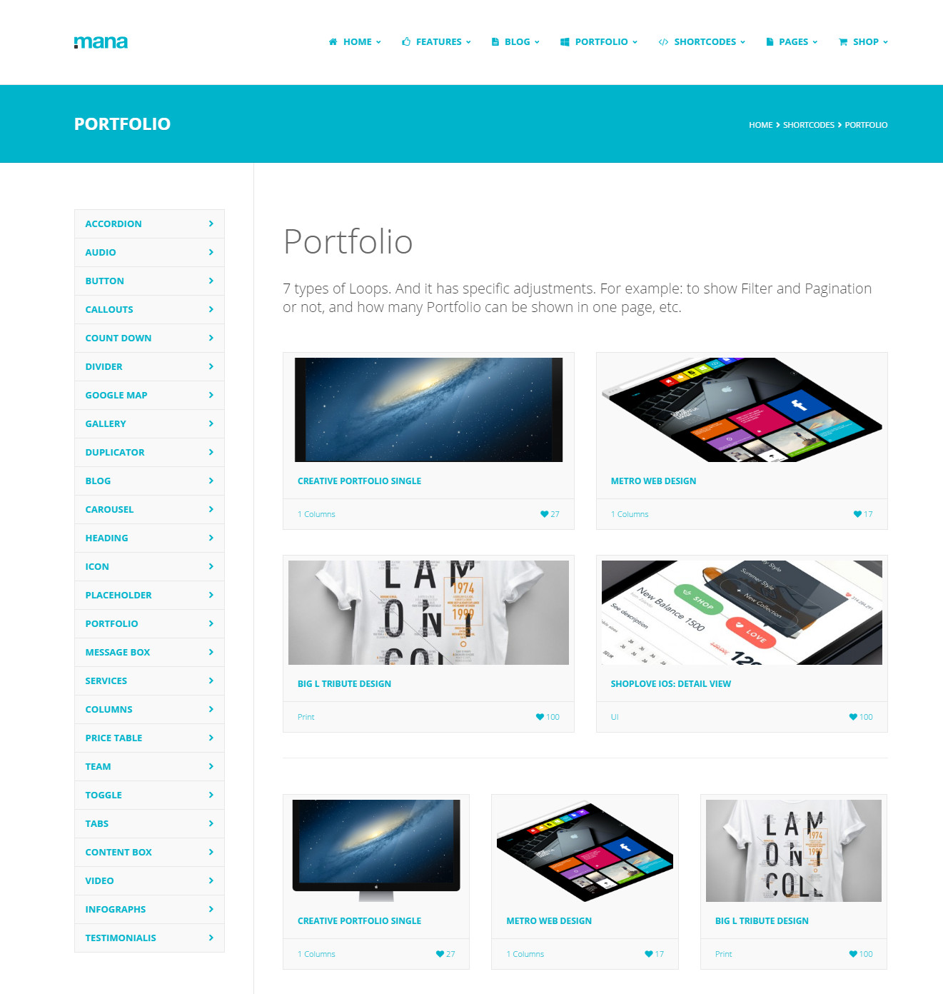 Mana- Business WordPress Theme