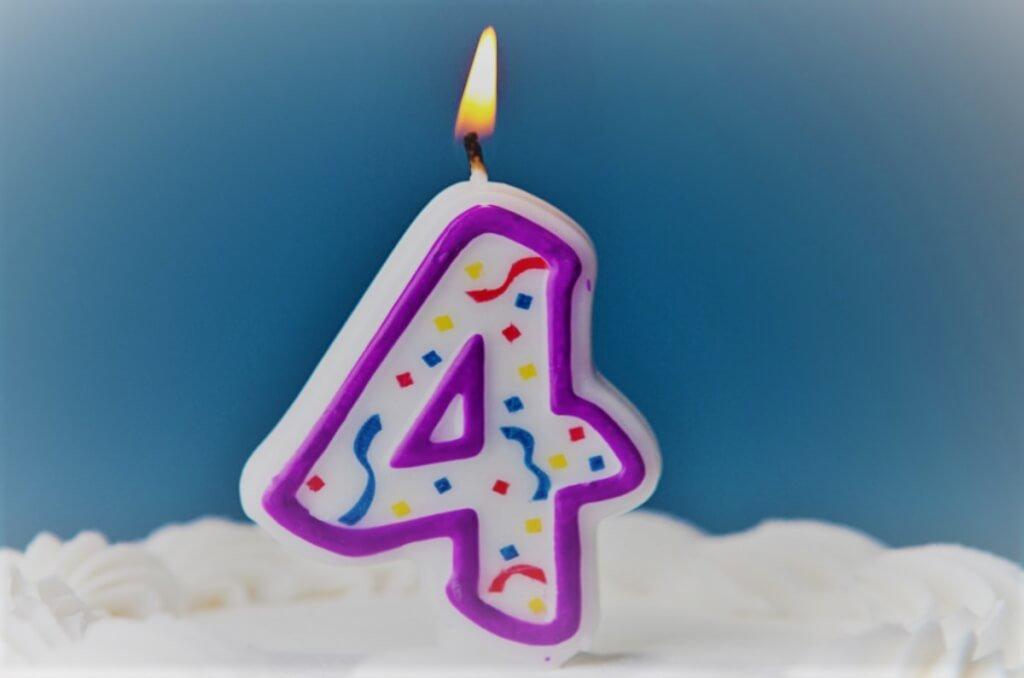 Geburtstagswünsche 4 Jahre - Geburtstagswünsche für Kinder