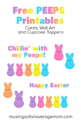free peeps printables